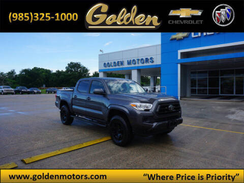 2020 Toyota Tacoma for sale at GOLDEN MOTORS in Cut Off LA