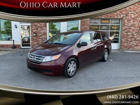 2013 Honda Odyssey for sale at Ohio Car Mart in Elyria OH