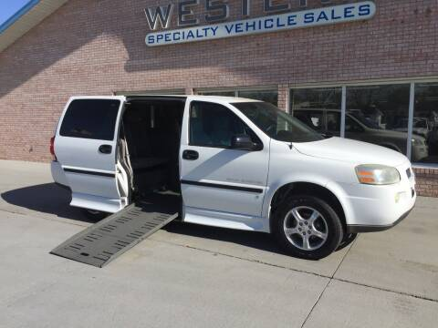 2007 Chevrolet Uplander for sale at Western Specialty Vehicle Sales in Braidwood IL