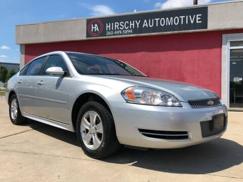 2014 Chevrolet Impala Limited for sale at Hirschy Automotive in Fort Wayne IN
