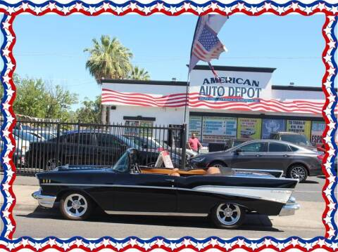 1957 Chevrolet Bel Air for sale at American Auto Depot in Modesto CA