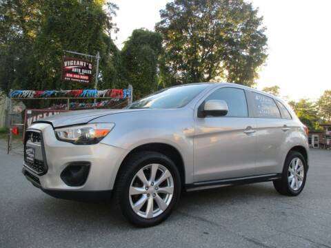 2014 Mitsubishi Outlander Sport for sale at Vigeants Auto Sales Inc in Lowell MA