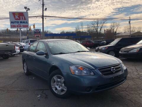 2002 Nissan Altima for sale at KB Auto Mall LLC in Akron OH