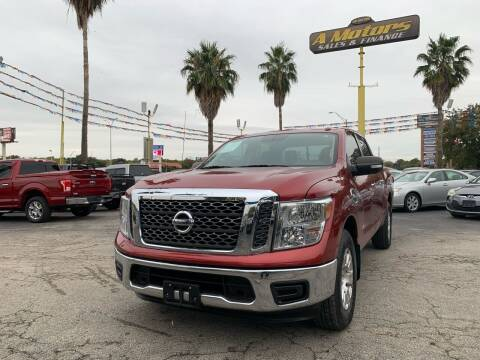 2017 Nissan Titan for sale at A MOTORS SALES AND FINANCE in San Antonio TX