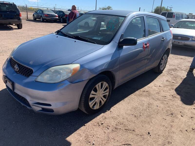 2003 Toyota Matrix for sale at PYRAMID MOTORS - Fountain Lot in Fountain CO