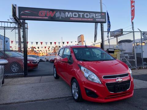2013 Chevrolet Spark for sale at GW MOTORS in Newark NJ