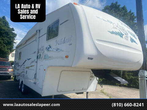 2004 Forest River Wildcat for sale at LA Auto & RV Sales and Service in Lapeer MI