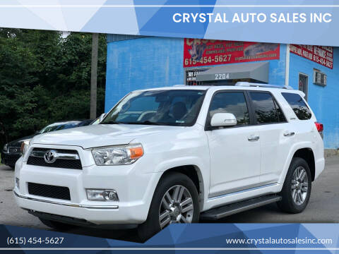 2010 Toyota 4Runner for sale at Crystal Auto Sales Inc in Nashville TN