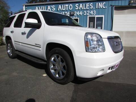 2011 GMC Yukon for sale at Avilas Auto Sales Inc in Burien WA
