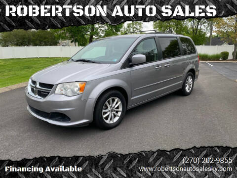 2013 Dodge Grand Caravan for sale at ROBERTSON AUTO SALES in Bowling Green KY