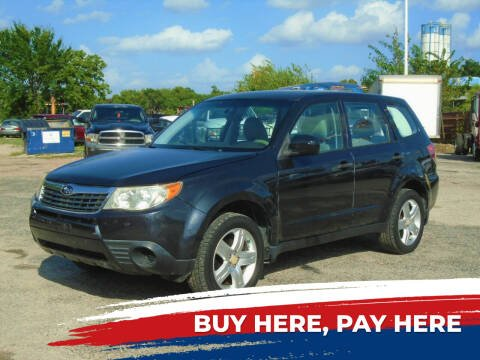 2010 Subaru Forester for sale at J & F AUTO SALES in Houston TX