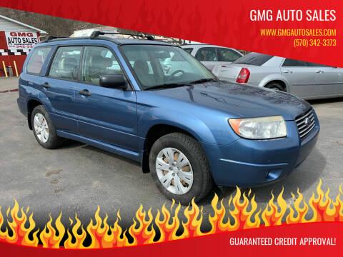 2008 Subaru Forester for sale at GMG AUTO SALES in Scranton PA