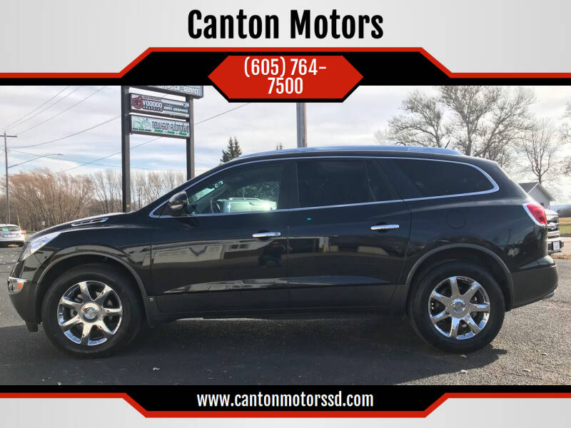 2008 Buick Enclave for sale at Canton Motors in Canton SD