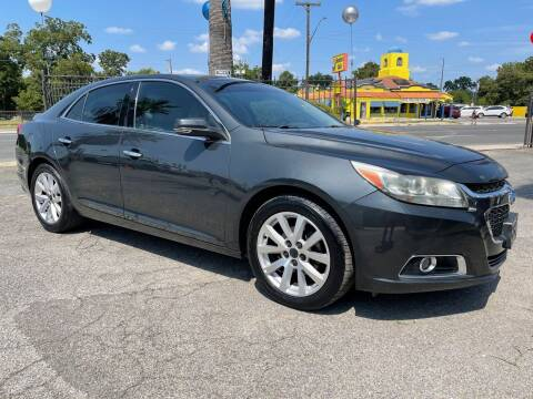 2015 Chevrolet Malibu for sale at Auto A to Z / General McMullen in San Antonio TX