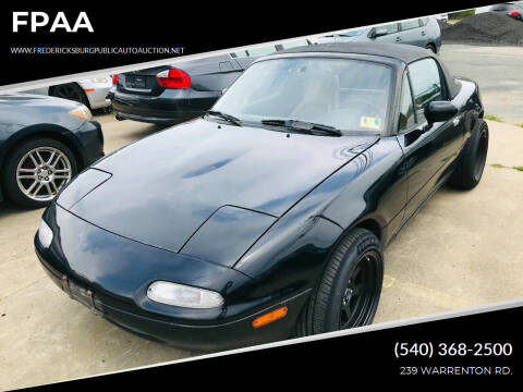 1997 Mazda MX-5 Miata for sale at FPAA in Fredericksburg VA