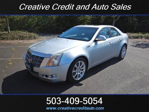 2009 Cadillac CTS for sale at Creative Credit & Auto Sales in Salem OR