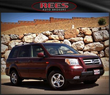 2007 Honda Pilot for sale at REES AUTO BROKERS in Washington UT