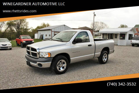 2004 Dodge Ram Pickup 1500 for sale at WINEGARDNER AUTOMOTIVE LLC in New Lexington OH