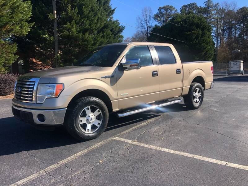 2011 Ford F-150 for sale at GTO United Auto Sales LLC in Lawrenceville GA
