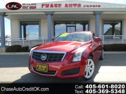 2013 Cadillac ATS for sale at Chase Auto Credit in Oklahoma City OK