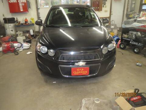2013 Chevrolet Sonic for sale at D & F Classics in Eliot ME