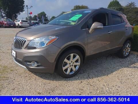 2014 Buick Encore for sale at Autotec Auto Sales in Vineland NJ