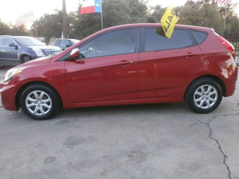 2012 Hyundai Accent for sale at Under Priced Auto Sales in Houston TX