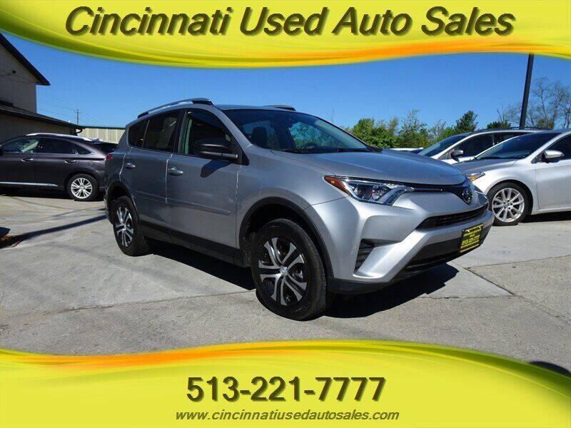 2017 Toyota RAV4 for sale at Cincinnati Used Auto Sales in Cincinnati OH