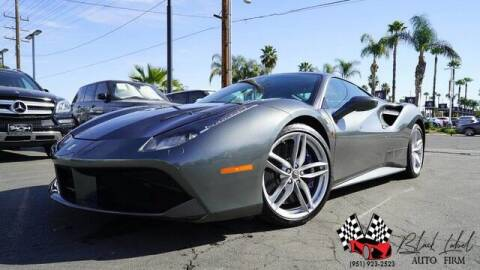 2016 Ferrari 488 GTB for sale at BLACK LABEL AUTO FIRM in Riverside CA