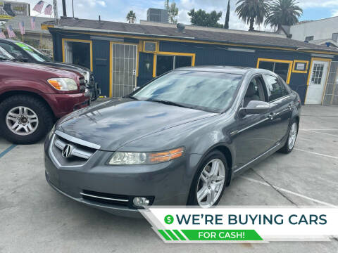 2008 Acura TL for sale at FJ Auto Sales North Hollywood in North Hollywood CA