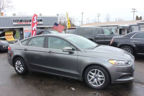 2014 Ford Fusion for sale at D & B Auto Sales LLC in Washington Township MI