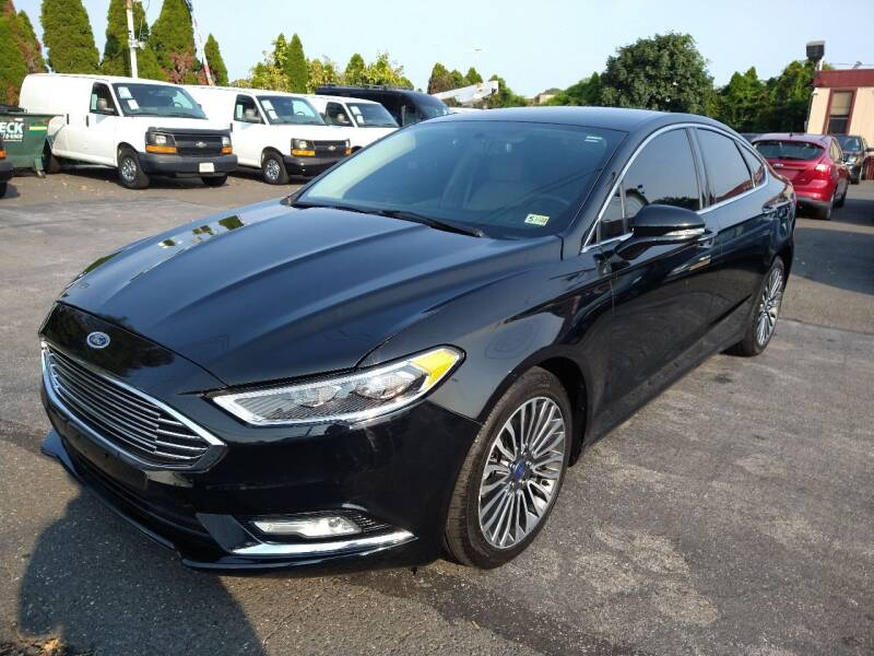 2017 Ford Fusion for sale at P J McCafferty Inc in Langhorne PA
