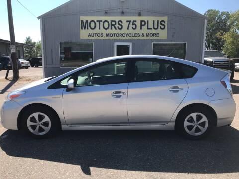 2015 Toyota Prius for sale at Motors 75 Plus in Saint Cloud MN