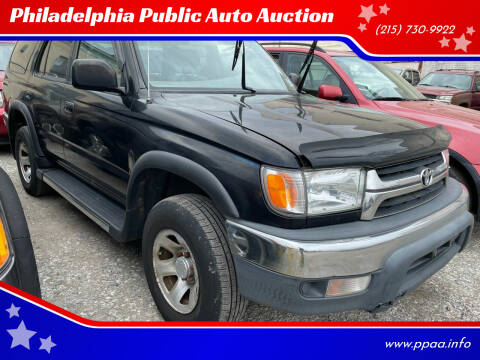 2001 Toyota 4Runner for sale at Philadelphia Public Auto Auction in Philadelphia PA