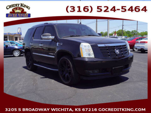 2007 Cadillac Escalade for sale at Credit King Auto Sales in Wichita KS