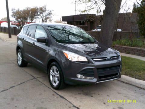 2015 Ford Escape for sale at Fred Elias Auto Sales in Center Line MI
