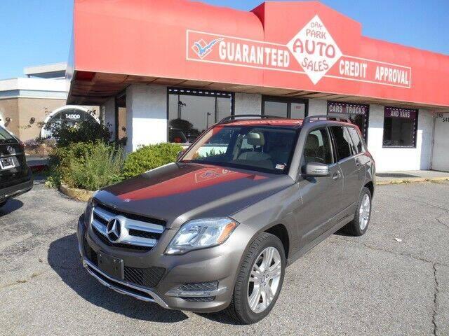 2014 Mercedes-Benz GLK for sale at Oak Park Auto Sales in Oak Park MI