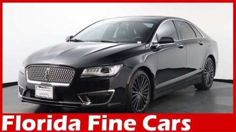 2018 Lincoln MKZ for sale at Florida Fine Cars - West Palm Beach in West Palm Beach FL