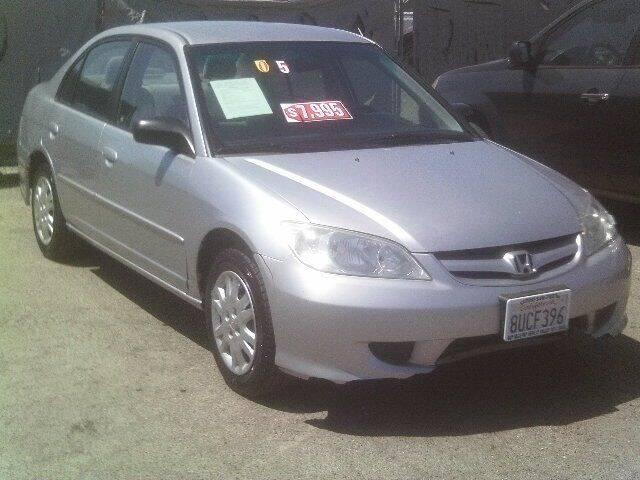2005 Honda Civic for sale at Valley Auto Sales & Advanced Equipment in Stockton CA