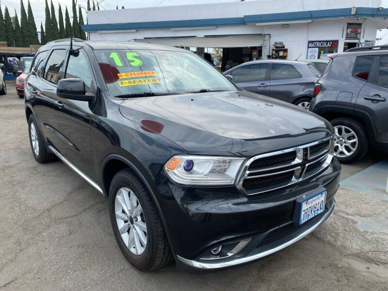 2015 Dodge Durango for sale at CAR GENERATION CENTER, INC. in Los Angeles CA