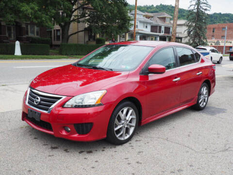 2013 Nissan Sentra for sale at Advantage Auto Sales in Wheeling WV