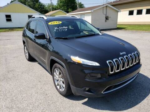 2018 Jeep Cherokee for sale at LeMond's Chevrolet Chrysler in Fairfield IL