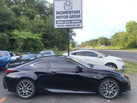 2015 Lexus RC 350 for sale at Momentum Motor Group in Lancaster SC