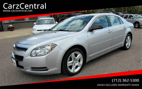 2009 Chevrolet Malibu for sale at CarzCentral in Estherville IA