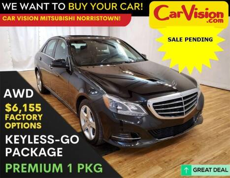 2015 Mercedes-Benz E-Class for sale at Car Vision Mitsubishi Norristown in Norristown PA
