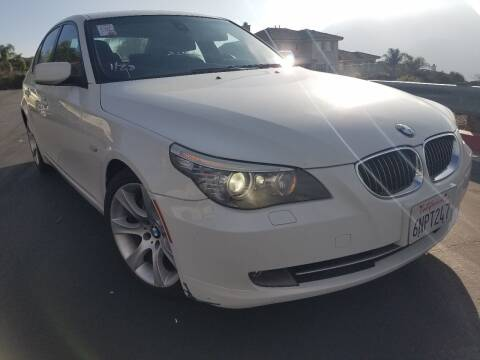 2010 BMW 5 Series for sale at Trini-D Auto Sales Center in San Diego CA