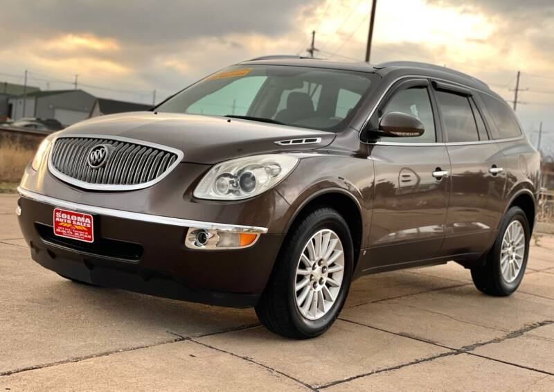 2010 Buick Enclave for sale at SOLOMA AUTO SALES in Grand Island NE