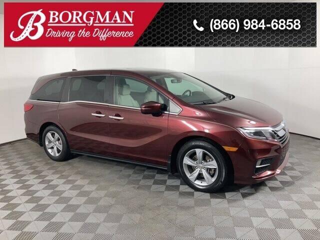 2018 Honda Odyssey for sale at BORGMAN OF HOLLAND LLC in Holland MI