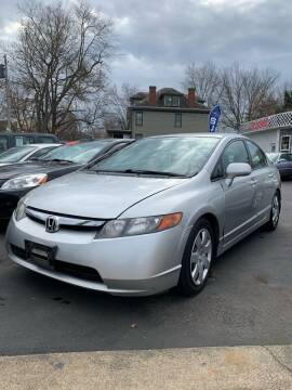 2008 Honda Civic for sale at PUTNAM AUTO SALES INC in Marietta OH