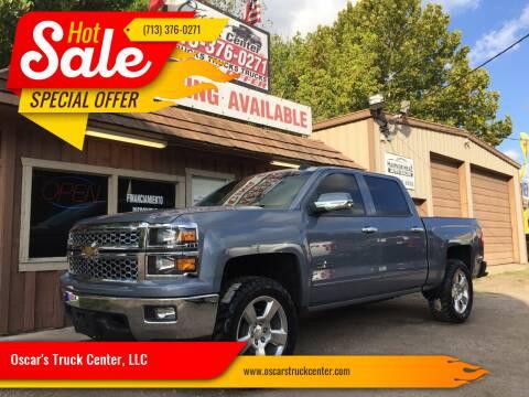 2015 Chevrolet Silverado 1500 for sale at Oscar's Truck Center, LLC in Houston TX
